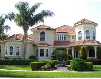 Florida Home Exterior Color Matches Landscape