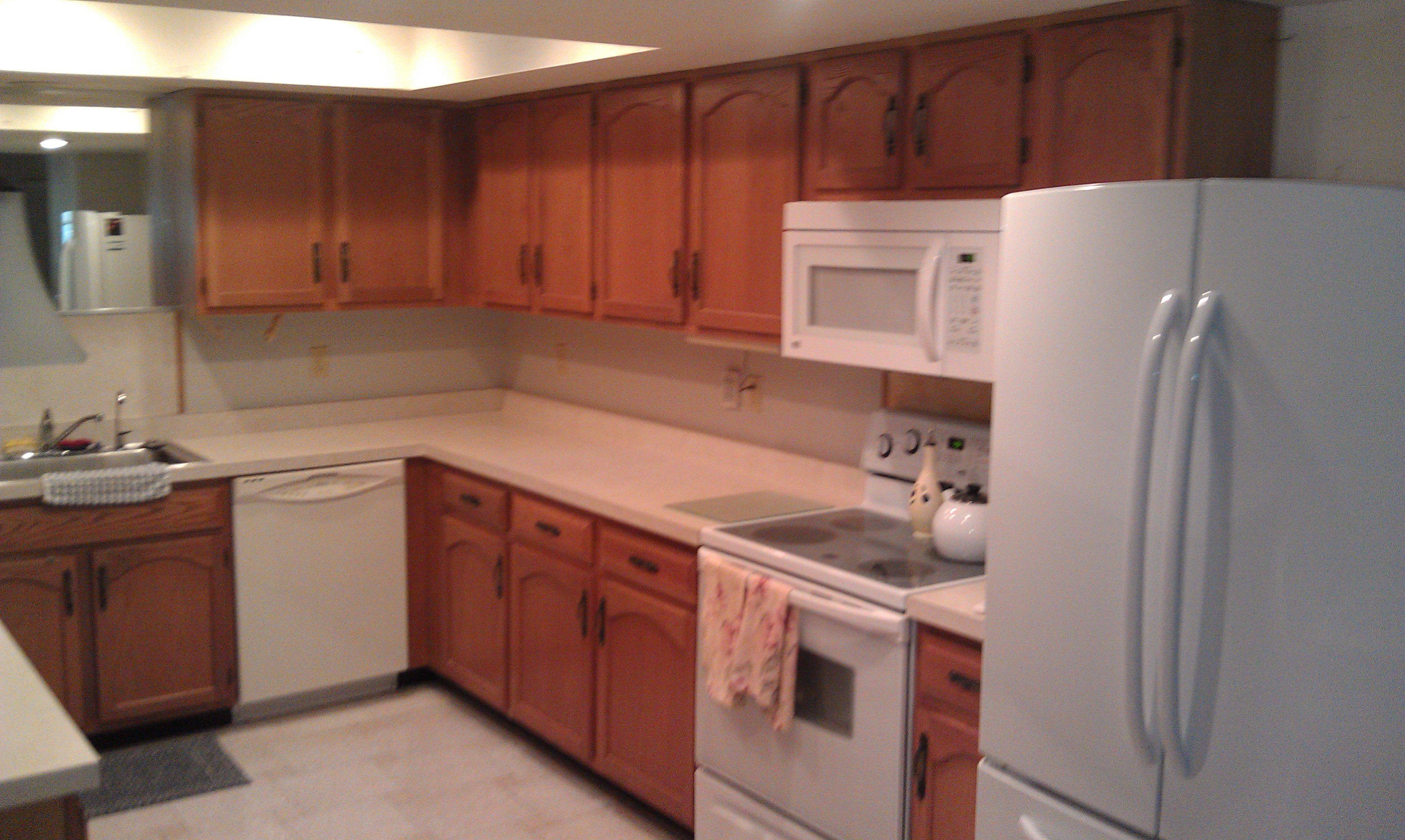 repaint cabinets by Burnett Painting