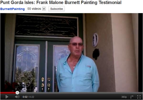 Punta Gorda Florida Burnett Painting exterior