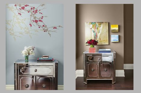 Eclectic Elegance View 3- 2012 Color Trends of the Year by Benjamin Moore