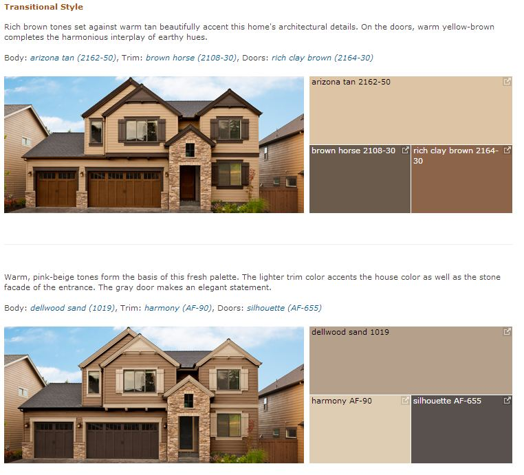 Benjamin Moore Curb Appeal - Transitional Style