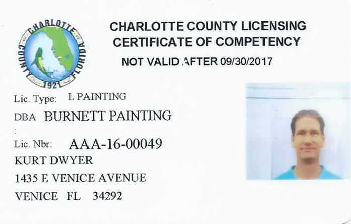 Charlotte County licence