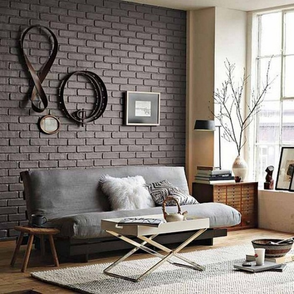 Awesome Ideas For Painting Interior Brick Walls Part - 7: ... How To Paint Interior Brick
